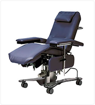 T688 Dialysis Medical Treatment Chair Extended